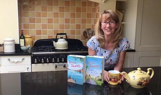 Erica talks about novels and mugs