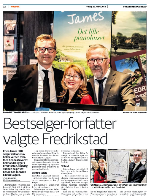 Headline news in Fredricksstad